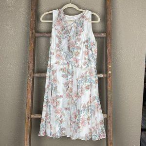 Kensie Floral Sleeveless Flowing Dress